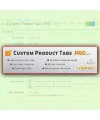 Дополнительные Вкладки | Custom Product Tab PRO | Extra Tab
