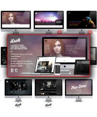 Lush-Music Band & Musician WordPress Theme