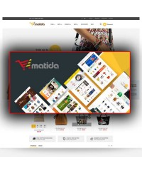 Matida-Multipurpose Responsive Opencart Theme
