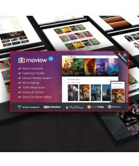 Moview-Responsive Film/Video WordPress Theme
