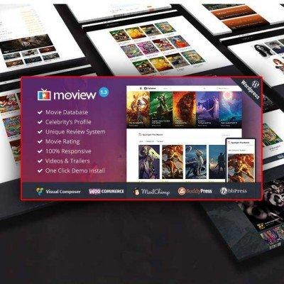 Скачать Moview-Responsive Film/Video WordPress Theme на сайте rus-opencart.info