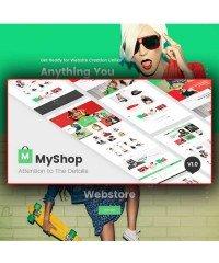 MyShop-multi layout fashion OpenCart theme