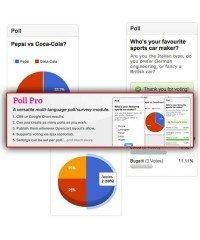 Модуль опросов | Poll Pro