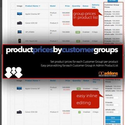 Скачать Цены для групп покупателей на сайте rus-opencart.info