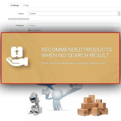 Скачать Рекомендуемые товары при отсутствии результатов поиска на сайте rus-opencart.info