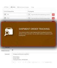 Отслеживание товара | Shipment Order Tracking
