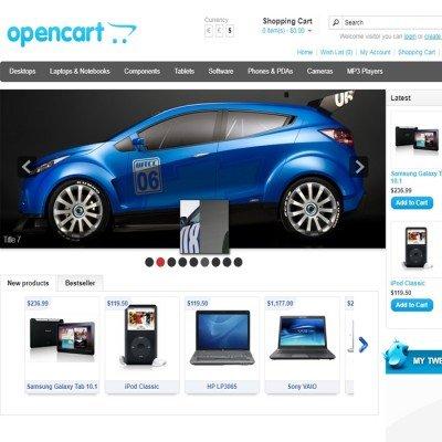 Скачать Skider Slider на сайте rus-opencart.info