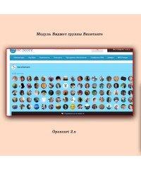 Виджет группы Вконтакте