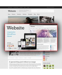 Website-Responsive WordPress Theme
