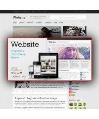 Website-Responsive WordPress Theme