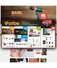 Faribe-Multi Purpose Opencart 3 Theme