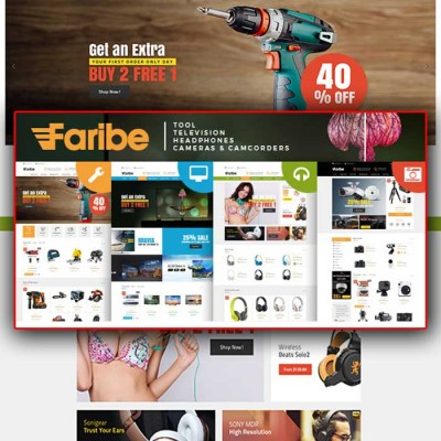 Скачать Faribe-Multi Purpose Opencart 3 Theme на сайте rus-opencart.info