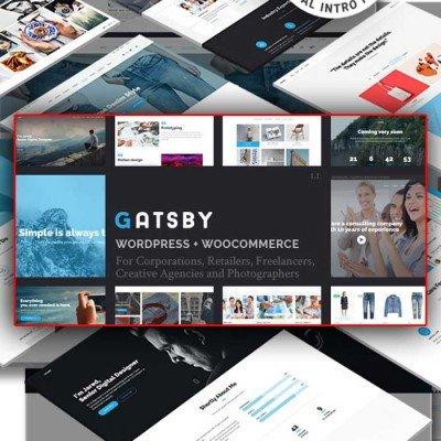Скачать Gatsby-WordPress Theme на сайте rus-opencart.info