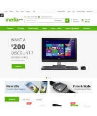 MediaCenter-Electronics Store Wordpress Theme