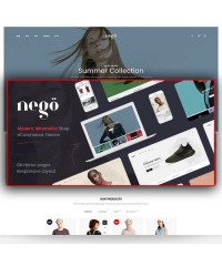 Nego-Адаптивный Opencart 3 шаблон