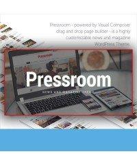 Pressroom-News and Magazine WordPress Theme