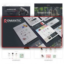Romantic-Multipurpose Responsive OpenCart Theme
