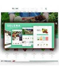 Selena-Organic Responsive Opencart Theme