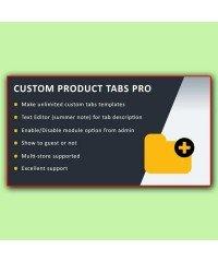 Custom Product Tabs Pro | Пользовательские вкладки, табы
