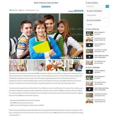 Скачать M-Blog | Блог Opencart на сайте rus-opencart.info