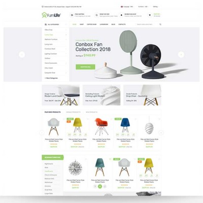 Скачать Furnilife-Furniture, Decorations & Supplies Opencart Theme на сайте rus-opencart.info