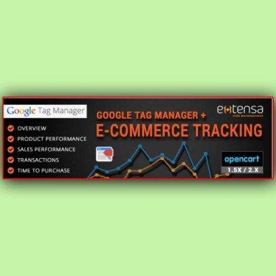 Скачать Google Tag Manager + Ecommerce Tracking PRO | Диспетчер тегов Google + отслеживание на сайте rus-opencart.info