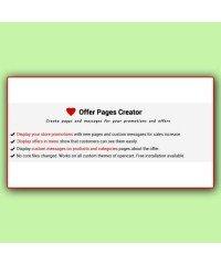 Offer Pages Creator | Создание предложений