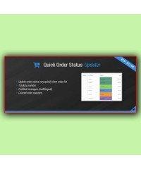 Quick Order Status Updater