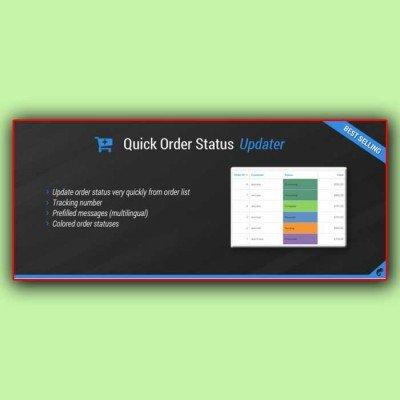 Скачать Quick Order Status Updater на сайте rus-opencart.info