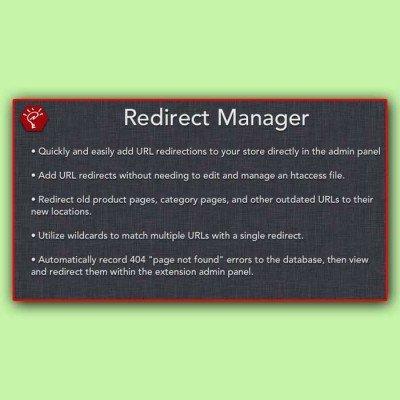 Скачать Redirect Manager | Менеджер переадресации на сайте rus-opencart.info