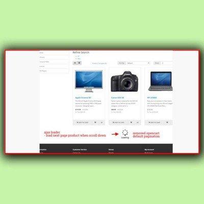 Скачать Infinite Product Scroll | Бесконечная прокрутка товаров на сайте rus-opencart.info