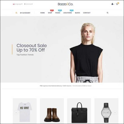 Скачать Pav Bazza-Creative Multipurposes Opencart Theme на сайте rus-opencart.info