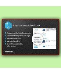 Easy Newsletter Subscription | Подписка на рассылку новостей