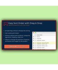 Сортировка перетаскиванием | Easy Sort Order with Drag & Drop