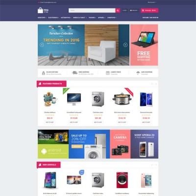Скачать So Fina - Multipurpose eCommerce OpenCart Theme на сайте rus-opencart.info