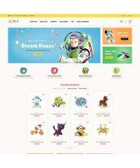 Kid Toys- Шаблон детских игрушек