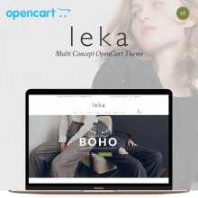 Leka - Multi Concept Opencart Theme