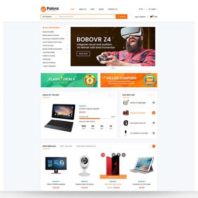 Скачать Palora - Responsive OpenCart Theme на сайте rus-opencart.info