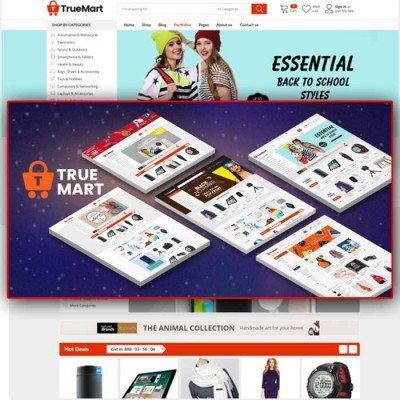 Скачать TrueMart-Mega Shop OpenCart Theme на сайте rus-opencart.info