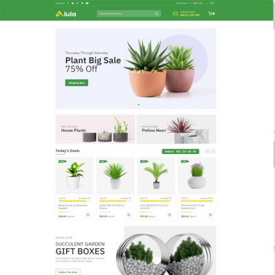 Скачать Alula-Multipurpose OpenCart Theme на сайте rus-opencart.info