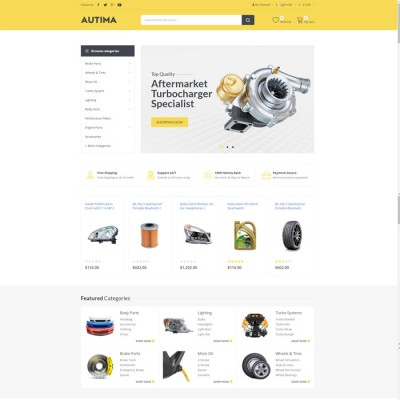 Скачать Autima-Accessories Car OpenCart Theme на сайте rus-opencart.info