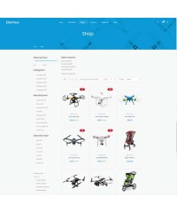 Elomus-Single Product OpenCart Theme