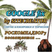 GOOGLE fix