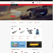 Sharma-Accessories Car OpenCart Theme