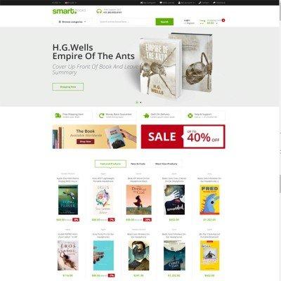 Скачать SmartBook - OpenCart Theme на сайте rus-opencart.info
