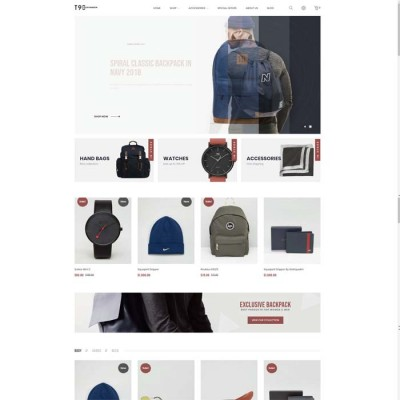 Скачать T90-Fashion Responsive OpenCart Theme на сайте rus-opencart.info