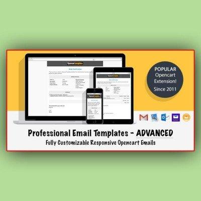 Скачать Advanced Professional Email Templates на сайте rus-opencart.info