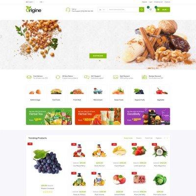 Скачать Origine-Organic Opencart Theme на сайте rus-opencart.info