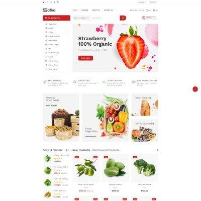 Скачать Safira-Responsive OpenCart Theme на сайте rus-opencart.info