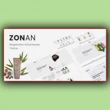 Zonan-Responsive OpenCart Theme